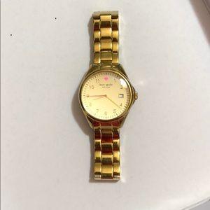 Gold Kate spade watch (original extra links!)